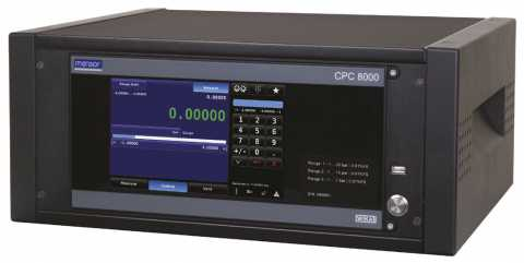Mensor - CPC8000 (High-End Pressure Controller